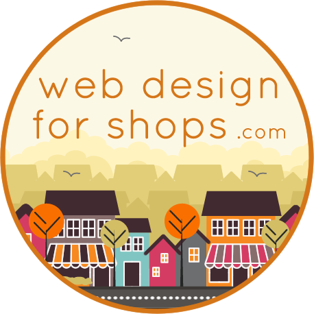 Web Design For Shops Logo